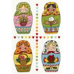 Four Russian Dolls