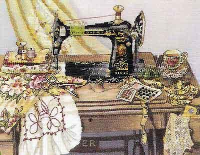 Мамина швейная машина