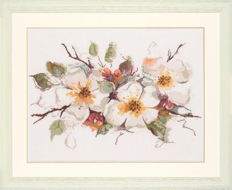 Ланарте вышивка яблоневый цвет