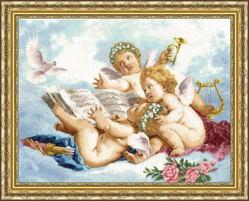 Золотое руно вышивка ангелочки