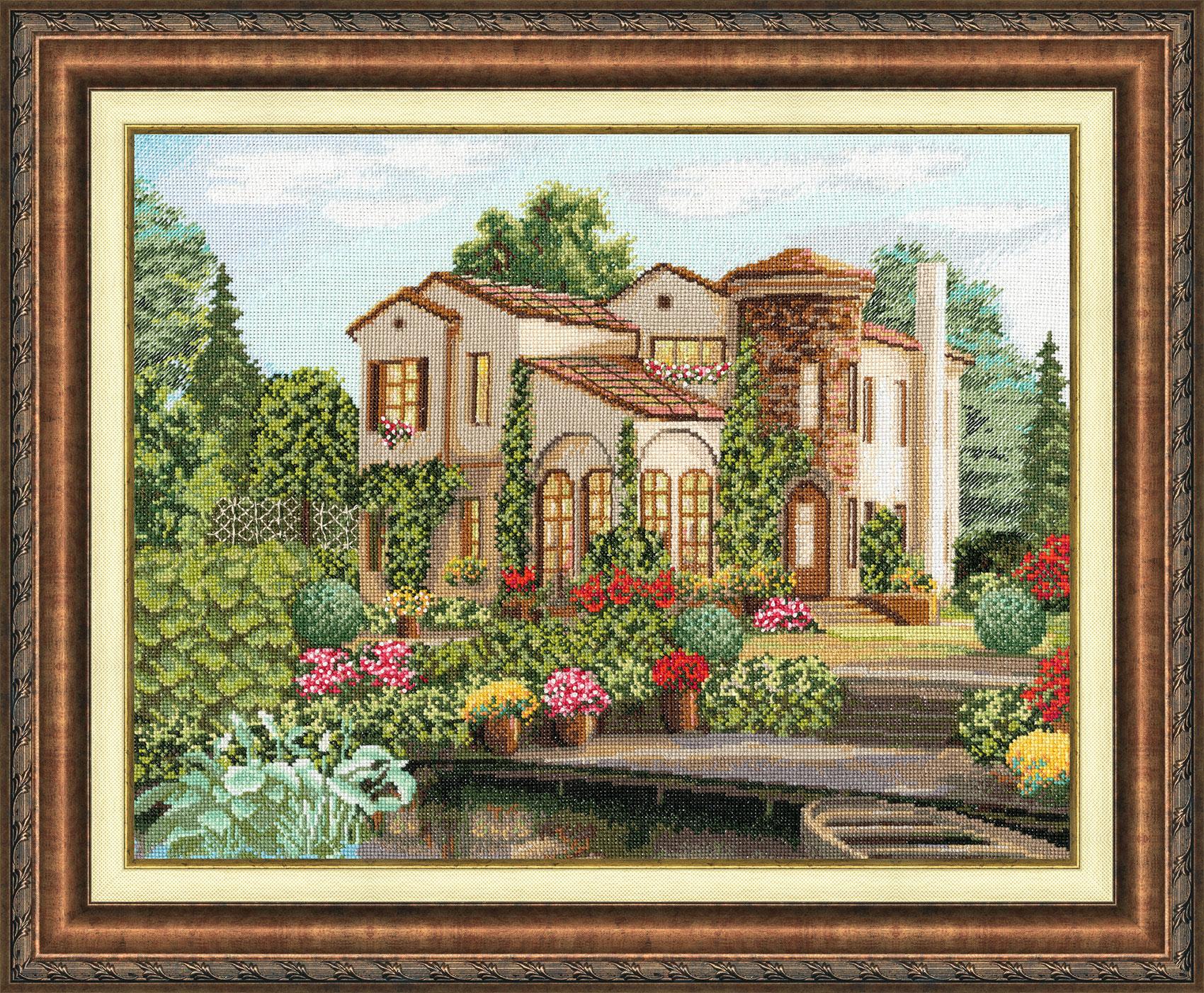 Схемы вышивки домики золотое руно