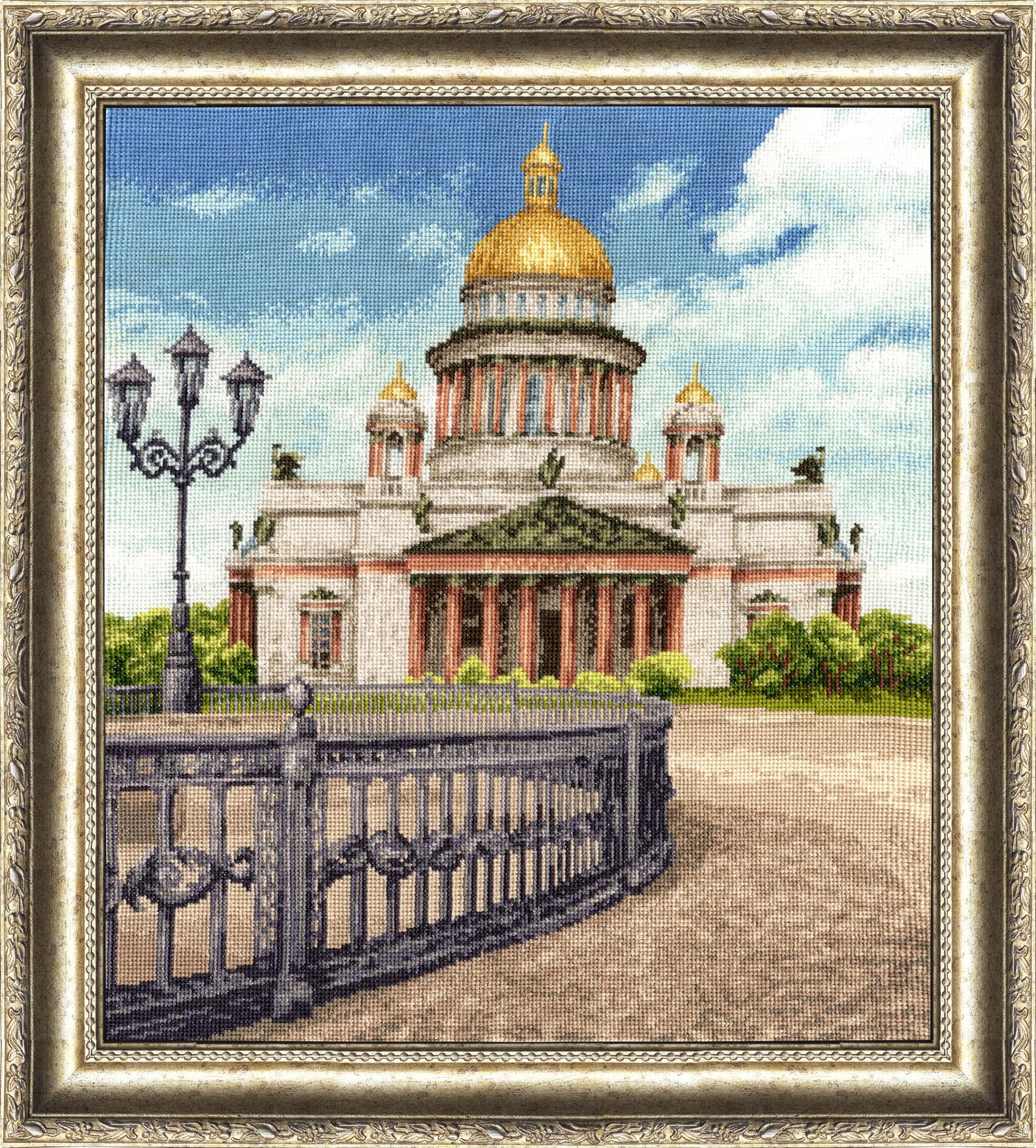 Виды петербурга вышивка крестом