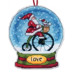 Love Snow Globe Ornament kit
