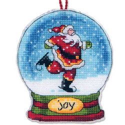Joy Snow Globe Ornament kit